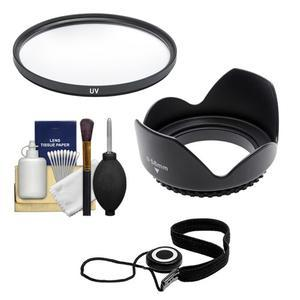 Essentials Bundle for Canon EF 50mm f-1.4 USM Lens with Filter + Lens Hood + Accessory Kit