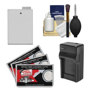 Essentials Bundle for Canon EOS Rebel T4i and T5i DSLR Camera with LP-E8 Battery and Charger + Cleaning Kit