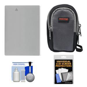 Essentials Bundle for Canon Powershot G15 and G16 with NB-10L Battery + Case + Accessory Kit