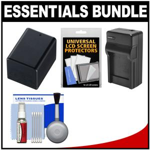 Essentials Bundle for Canon Vixia HF R70 R700 R72 R80 R800 R82 Camcorder with BP-727 Battery and Charger and Accessory Kit
