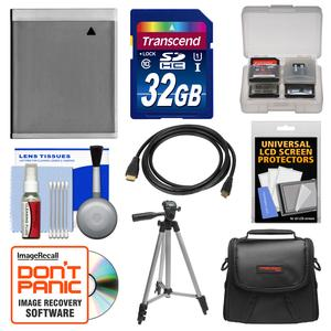 Essentials Bundle for Canon Powershot SX280 SX600 SX700 SX710 HS Camera with NB-6L Battery + 32GB Card + Case + Tripod + HDMI Cable + Accessory Kit