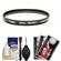 Canon 58mm Screw-in Protection Filter with Lens & Camera Cleaning Kit + Blower