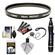 Canon 58mm Screw-in Protection Filter with Lens & Camera Cleaning Kit + Blower + Accessory Kit