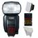 Canon Speedlite 600EX-RT Flash with Soft Box + Reflector + Batteries & Charger