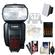 Canon Speedlite 600EX-RT Flash with Soft Box + Diffuser + Batteries & Charger + Accessory Kit