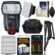 Canon Speedlite 600EX II-RT Flash with Case + Batteries & Charger + Soft Box + Sling Strap + Kit