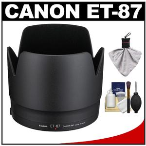 Canon ET-87 Lens Hood for EF 70-200mm f-2.8 L II IS USM with Cleaning Kit