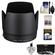 Canon ET-87 Lens Hood for EF 70-200mm f/2.8 L II IS USM with 3 (UV/ND8/CPL) Filter Set + Accessory Kit