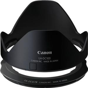 Canon LH-DC100 Lens Hood and FA-DC67B Filter Adapter for PowerShot G3 X