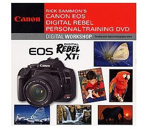 Canon DVD: Rick Sammon's Canon EOS Digital Rebel XTi Personal Training