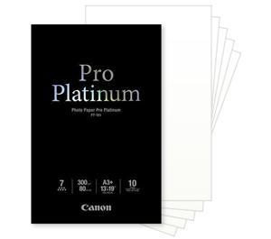 Canon Photo Paper Pro Platinum 13 x 19 Inkjet Paper - 10 sheets PT-101