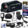 Canon Vixia HF R82 32GB Wi-Fi 1080p HD Video Camera Camcorder with 64GB Card + Battery & Charger + Case + Tripod + Stabilizer + LED + Mic + 2 Lens Kit