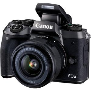 Canon EOS M5 Wi-Fi Digital ILC Camera and EF-M 15-45mm IS STM Lens