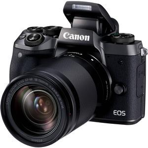 Canon EOS M5 Wi-Fi Digital ILC Camera and EF-M 18-150mm IS STM Lens