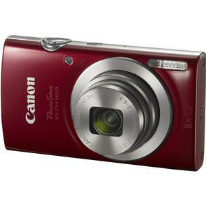Canon PowerShot Elph 180 Digital Camera - Red -