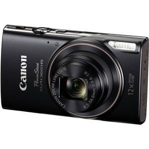 Canon PowerShot Elph 360 HS Wi-Fi Digital Camera - Black -