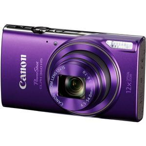 Canon PowerShot Elph 360 HS Wi-Fi Digital Camera - Purple -