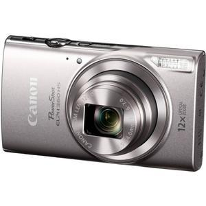 Canon PowerShot Elph 360 HS Wi-Fi Digital Camera - Silver -