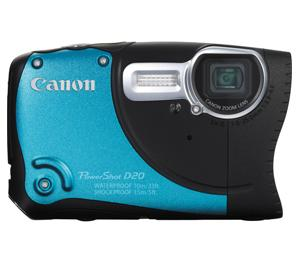 Canon PowerShot D20  Shock & Waterproof GPS Camera