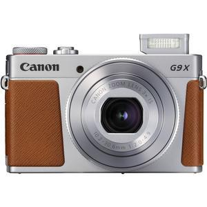 Canon PowerShot G9 X Mark II Wi-Fi Digital Camera - Silver -