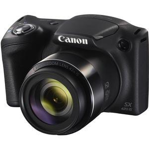Canon PowerShot SX420 IS Wi-Fi Digital Camera - Black -