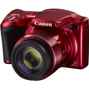 Canon PowerShot SX420 IS Wi-Fi Digital Camera - Red -