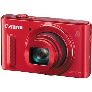 Click here for Canon PowerShot SX610 HS Wi-Fi Digital Camera (Red... prices