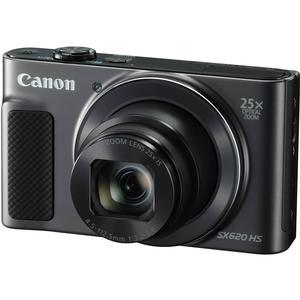 Canon PowerShot SX620 HS Wi-Fi Digital Camera - Black -