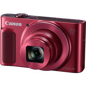 Canon PowerShot SX620 HS Wi-Fi Digital Camera - Red -
