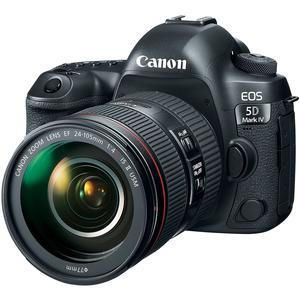 Canon EOS 5D Mark IV 4K Wi-Fi Digital SLR Camera and EF 24-105mm f-4L IS II USM Lens