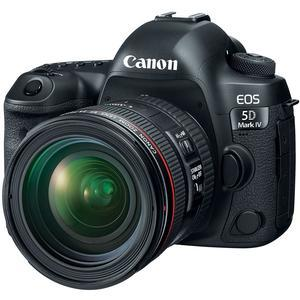 Canon EOS 5D Mark IV 4K Wi-Fi Digital SLR Camera and EF 24-70mm f-4L IS USM Lens