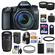 Canon EOS 70D Digital SLR Camera & EF-S 18-135mm IS STM Lens with 55-250mm IS STM Lens + 64GB Card + Battery + Charger + Backpack + Tele/Wide Lens Kit