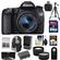 Canon EOS 70D Digital SLR Camera & EF-S 18-55mm IS STM Lens with 64GB Card + Battery & Charger + Backpack + 3 Filters + Tripod + Tele & Wide Lens Kit