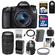Canon EOS 70D Digital SLR Camera & EF-S 18-55mm IS STM Lens with 75-300mm Lens + 32GB Card + Battery & Charger + Backpack + Filter + Accessory Kit