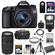 Canon EOS 70D Digital SLR Camera & EF-S 18-55mm IS STM Lens with 75-300mm Lens + 64GB Card + Battery + Case + Filters + Flash + Tripod + Accessory Kit