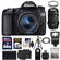 Canon EOS 70D Digital SLR Camera & EF-S 18-55mm IS STM Lens with 70-300mm IS Lens + 64GB Card + Battery + Case + Tripod + Flash + Accessory Kit
