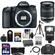 Canon EOS 70D Digital SLR Camera Body with 18-200mm IS Lens + 64GB Card + Battery + Case + Flash + Tripod + Kit