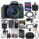 Canon EOS 77D Wi-Fi Digital SLR Camera & EF-S 18-135mm IS USM Lens with 64GB Card + Case + Flash + Video Light + Battery & Charger + Tripod + UV Filter + Kit