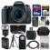 Canon EOS 77D Wi-Fi Digital SLR Camera & EF-S 18-55mm IS STM Lens with 64GB Card + Case + Flash + Battery & Charger + Tripod + 3 UV/CPL/ND8 Filters + Kit