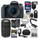 Canon EOS 77D Wi-Fi Digital SLR Camera & EF-S 18-55mm IS STM Lens with 75-300mm III Lens + 64GB Card + Case + Flash + Battery & Charger + Filters + Mic Kit