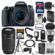 Canon EOS 77D Wi-Fi Digital SLR Camera & EF-S 18-55mm IS STM Lens with 55-250mm IS Lens + 64GB Card + Case + Flash + Battery/Charger + Tripod + Filters Kit