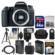 Canon EOS 77D Wi-Fi Digital SLR Camera Body with 64GB Card + Case + Flash + Battery & Charger + Tripod + Remote + Kit