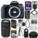 Canon EOS 77D Wi-Fi Digital SLR Camera Body with 75-300mm III Lens + 64GB Card + Case + Flash + Battery & Charger + Tripod + Kit