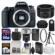 Canon EOS 77D Wi-Fi Digital SLR Camera Body with 50mm f/1.8 Lens + 64GB Card + Case + Flash + Battery & Charger + Tripod + Filter Kit