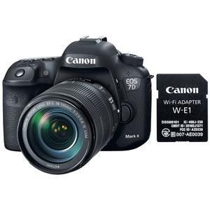 Canon EOS 7D Mark II Digital SLR Camera and EF-S 18-135mm IS USM Lens and Wi-Fi Adapter Kit