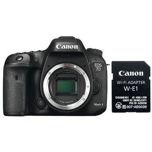 Canon EOS 7D Mark II Digital SLR Camera Body and Wi-Fi Adapter Kit