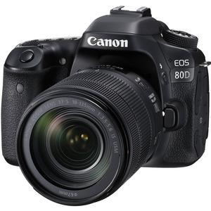 Canon EOS 80D Wi-Fi Digital SLR Camera and EF-S 18-135mm IS USM Lens