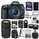 Canon EOS 7D Mark II GPS Digital SLR Camera & EF-S 18-135mm IS STM Lens with 75-300mm III Lens + 64GB Card + Backpack + Battery/Charger + Tripod + 2 Lens Kit