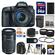 Canon EOS 7D Mark II GPS Digital SLR Camera & EF-S 18-135mm IS STM Lens with 55-250mm IS STM Lens + 64GB Card + Backpack + Battery/Charger + Tripod + 2 Lens Kit
