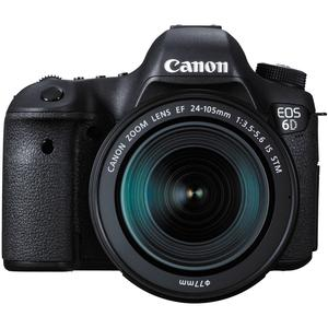 Canon EOS 6D Digital SLR Camera Body and EF 24-105mm IS STM Lens